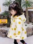 兒童外套 女童外套秋冬加厚2019新款秋裝女寶寶洋氣春秋小兒童風衣加絨冬裝