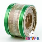 王佳膠帶 ESTAPE 免膠台抽取式HS1555G 易撕貼 綠/ 捲