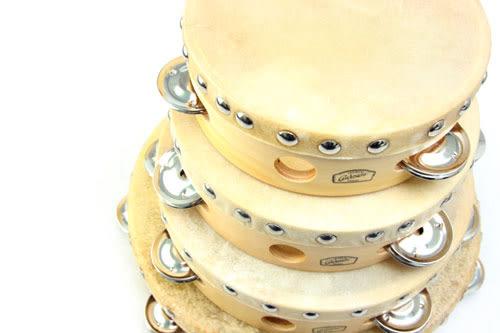 【敦煌樂器】CADESON TO11-8 8吋單排繃皮鈴鼓