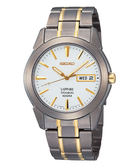 SEIKO 精工 鈦金屬 經典時尚剛帶手錶-半金 7N43-0AS0KS