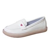 豆豆鞋 小白鞋女秋冬2020新款軟底透氣平底豆豆鞋舒適防滑加絨棉鞋護士鞋 歐歐