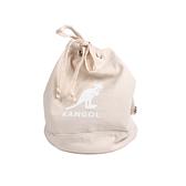 KANGOL 側背包 束口包 淺卡其色 6025301831 noA85