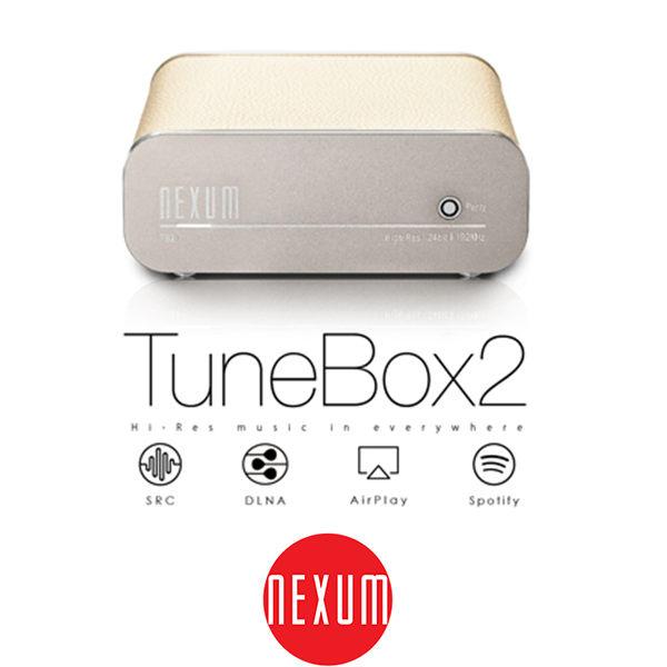 【台中平價鋪】全新 Nexum TuneBox 2 (TB21) 無線音樂盒/自製串流/音響上網音樂播放器 象牙白