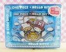 【震撼精品百貨】ONE PIECE&HELLO KITTY_聯名海賊王喬巴&凱蒂貓系列~相框-藍色