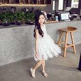 女童禮服連身裙夏裝2019新款韓版洋裝兒童裙子蛋糕裙公主裙HT749