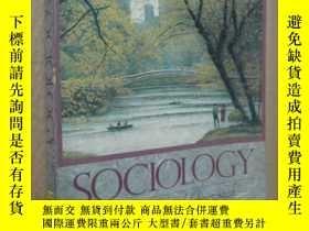 二手書博民逛書店Sociology罕見A Conceptual Approach