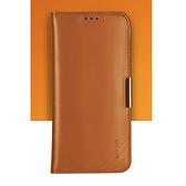 三星 Note10 Plus 簡約翻蓋真皮保護套 SamSung note10 個性創意防摔手機殼 S10 +全包時尚純色手機套