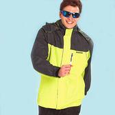 【日本Kawasaki】男女休閒功能性二件式網裡外套(淺黃灰)#K257A