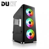 【Mavoly 松聖】D-08 炫彩 RGB 透側鋼化玻璃 USB3.0 電腦機殼