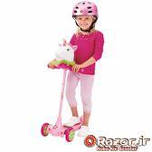 (送日本RANGS安全帽 + 護膝)【 美國 Razor 】Kuties Scooter-Unicorn二合一兒童可愛滑板車 - 獨角獸
