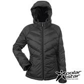 【PolarStar】女 鵝絨保暖外套『黑』P20236 休閒 戶外 登山 吸濕排汗 冬季 保暖 禦寒