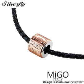 《 SilverFly銀火蟲銀飾 》【MiGO】DREAM項鍊-小(玫瑰金)
