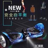 善騎平衡車電動扭扭車雙輪成人兒童兩輪電動代步車智慧體感思維車HM 3c優購