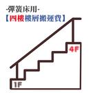 【4F - 樓層搬運費 / 彈簧床】...