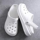 拖鞋2021韓版洞洞鞋兩用包頭休閑拖鞋防滑學生可愛涼鞋透氣沙灘鞋 依凡卡時尚