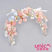UNICO 兒童 花童表演拍照最佳禮服質感配飾/髮飾