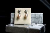 【喨喨飾品】珍珠純銀耳環 S289