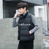 秋冬款馬甲男士外套韓版潮流無袖保暖背心情侶帥氣冬季羽絨棉馬甲