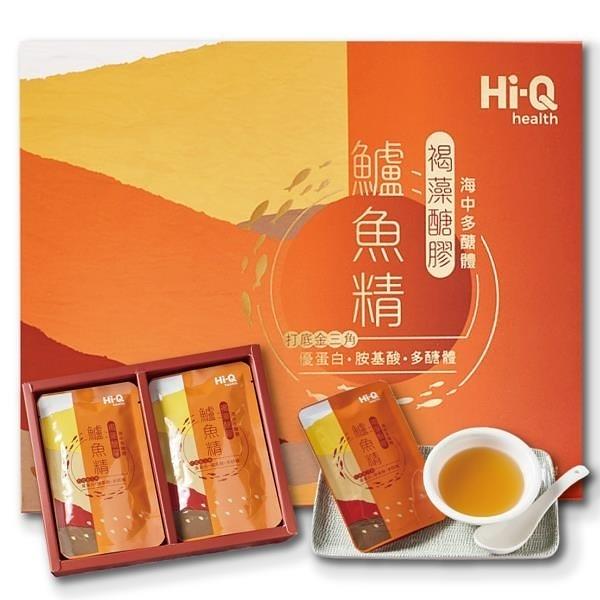 【南紡購物中心】Hi-Q 褐藻醣膠鱸魚精 附提袋