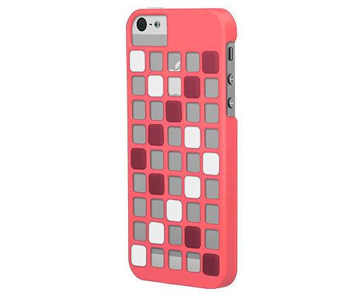 {新安} 蘋果 Apple IPhone 5/5S SE X-doria Cubit遊戲方塊組合 保護殼 手機殼 手機背蓋 (粉)