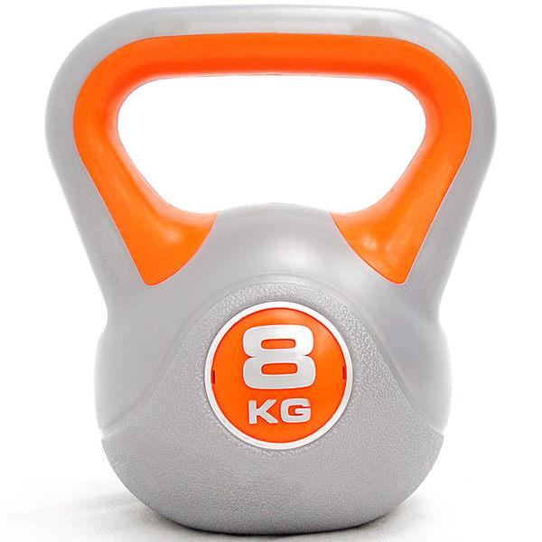 KettleBell運動8KG壺鈴(17.6磅)8公斤壺鈴拉環啞鈴搖擺鈴舉重量訓練重力健身器材.推薦哪裡買專賣店
