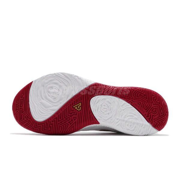 Nike 籃球鞋 Zoom Freak 1 EP Roses 白 金 紅 字母哥 男鞋 【PUMP306】 BQ5423-100