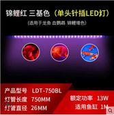 LED三基色防水龍魚缸燈管水族箱 cf