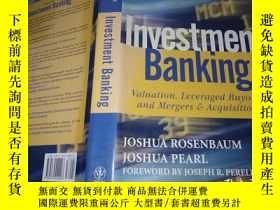 二手書博民逛書店Investment罕見BankingY9766 Joshua(