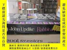 二手書博民逛書店英文原版《John罕見Updike rabbit at rest