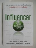 【書寶二手書T1/原文書_EU3】Influencer: The Power to Change Anything_Patterson