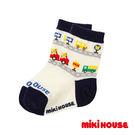 MIKI HOUSE  日本製普奇熊小汽車兒童襪