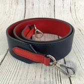 BRAND楓月 LOUIS VUITTON LV J02306 紅藍拼接 EPI 水波紋 銀釦 背帶 包包背帶 包包配件