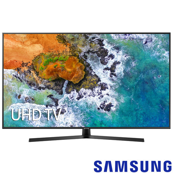 《送壁掛架安裝&OVO B01S電視盒》Samsung三星 55吋4K UHD聯網液晶電視 55NU7400(UA55NU7400W)