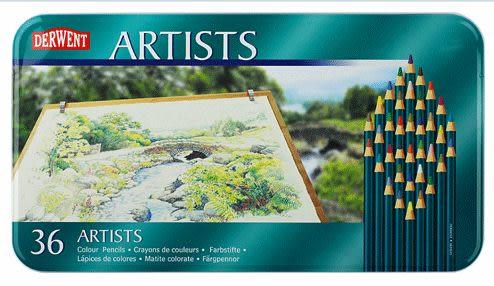 英國Derwent Artists系列/36色彩色鉛筆*32096