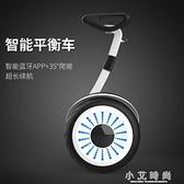 帶扶桿電動平衡車雙輪兒童體感10寸越野成人兩輪智慧代步車 小艾時尚.NMS
