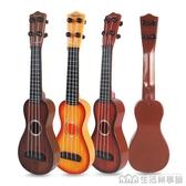 尤克里里初學者兒童吉他玩具可彈出聲音 男孩女孩仿真音樂樂器 NMS生活樂事館