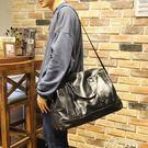 男包大容量出差短途旅行包手提行李包側背斜背旅游包皮包休閒 igo黛尼時尚精品