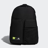 Adidas 黑色多口袋實用運動後背包-NO.GN9875