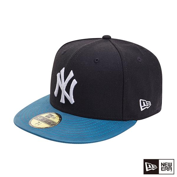 NEW ERA 59FIFTY 5950 THERMO SENSITIVE 洋基 黑 棒球帽