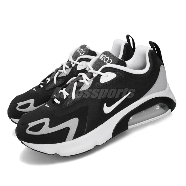 Nike 休閒鞋 Air Max 200 黑 白 男鞋 運動鞋 【PUMP306】 CQ4599-010