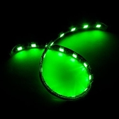 5050黑底扁條燈18燈 30cm綠
