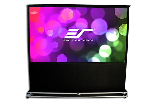 億立 Elite Screens 100吋 FE100H-TC頂級移動式電動上升舞台幕16:9比例