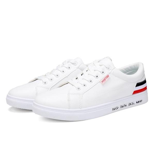 休閒鞋 2019春夏季 小白鞋 男 韓版 潮流 白色板鞋 休閒 透氣 潮鞋 運動 百搭 男鞋
