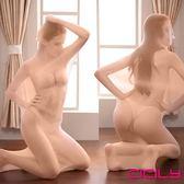 下殺折扣潤滑液CICILY性感透明全包透視單人捆綁連體衣緊身連身絲襪膚色成人SM遊戲角色扮演整人