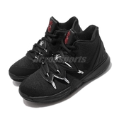 Nike 籃球鞋 Kyrie 5 GS 黑 白 紅 女鞋 大童鞋 厄文 5代【PUMP306】 AQ2456-016
