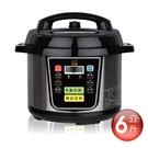 【富樂屋】日虎 微電腦壓力鍋 6L [不銹鋼內鍋] /萬用鍋/電子鍋S350 6-10人份