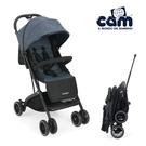 cam義大利秒收拉桿嬰兒手推車 compass-牛津藍(0歲可用) M-832-C5-FF