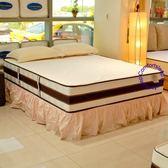 美國Debbie黛比[恆溫親水棉]6x7尺雙人特大獨立筒床墊, 送純棉床包式保潔墊