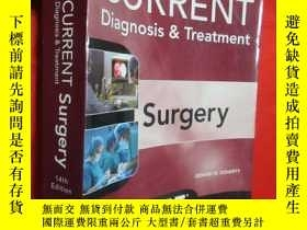 二手書博民逛書店Current罕見Diagnosis and Treatment