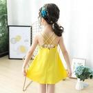 吊帶裙 女童寶寶洋裝夏裝新款小女孩公主兒童夏天洋氣吊帶沙灘裙子